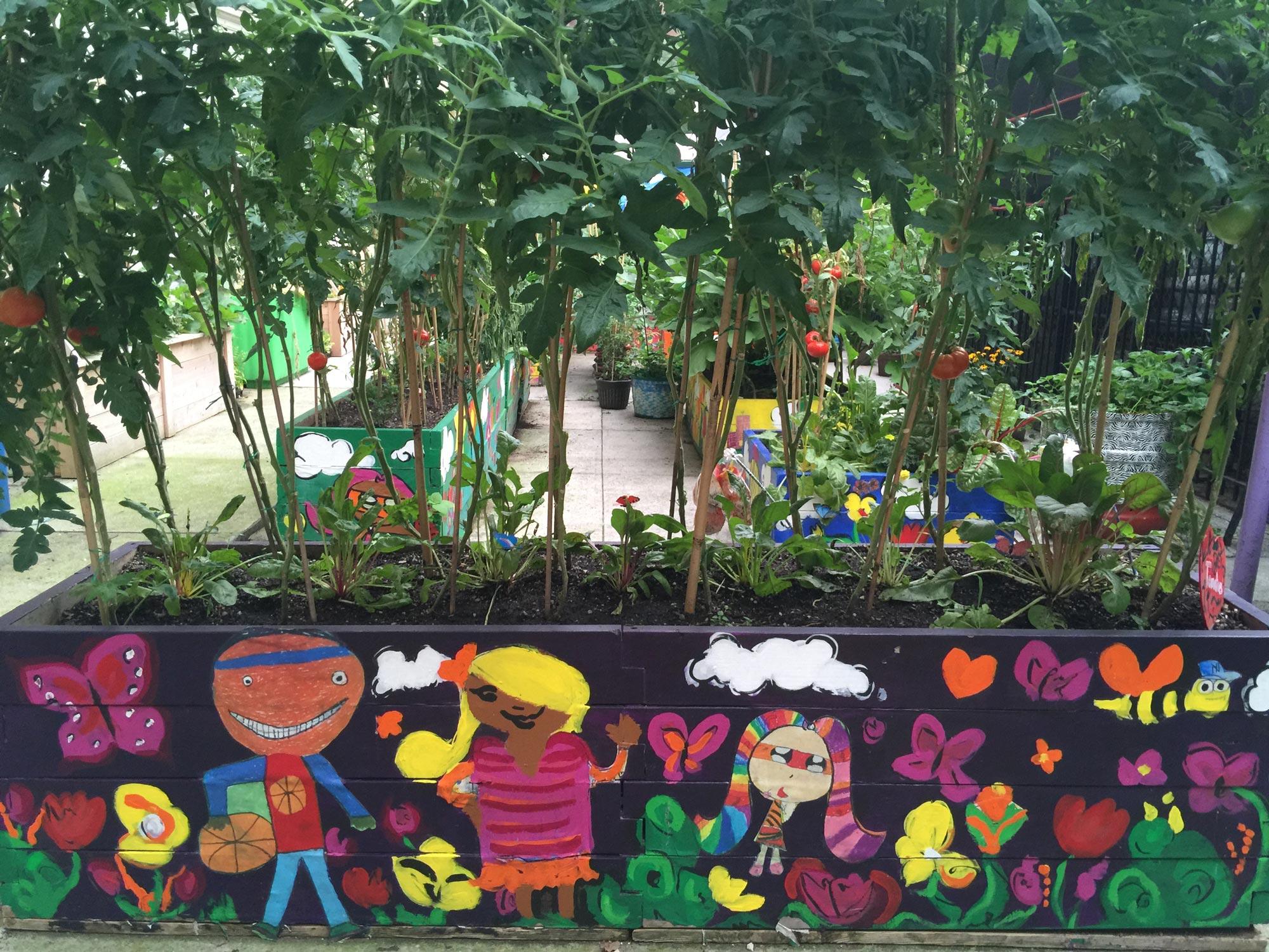 Learning Garden at CS