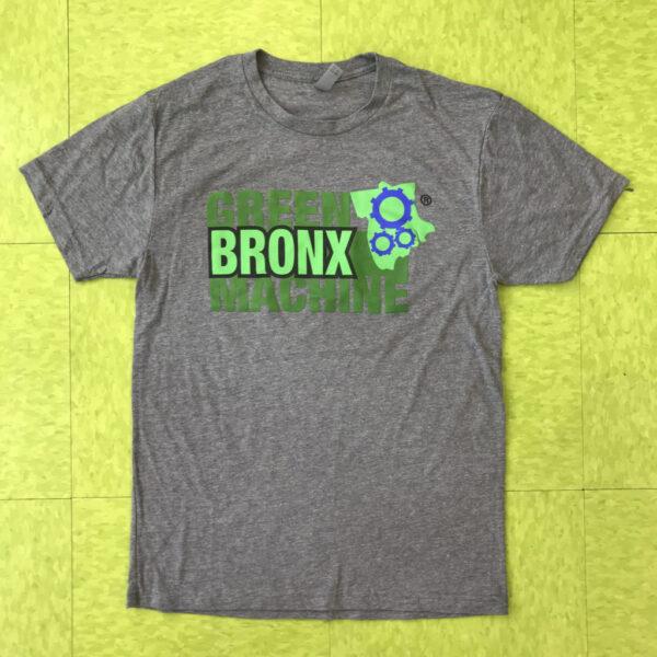Gray Unisex GBM-Logo Crew Neck T-shirt