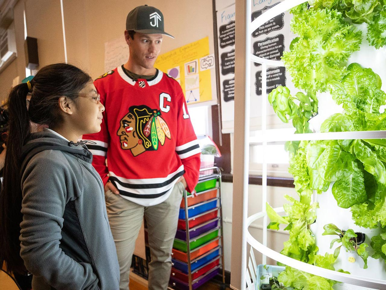 Partnership with Jonathan Toews Foundation and Chicago Blackhawks