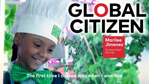Global Citizen – These little chefs are making a big difference!